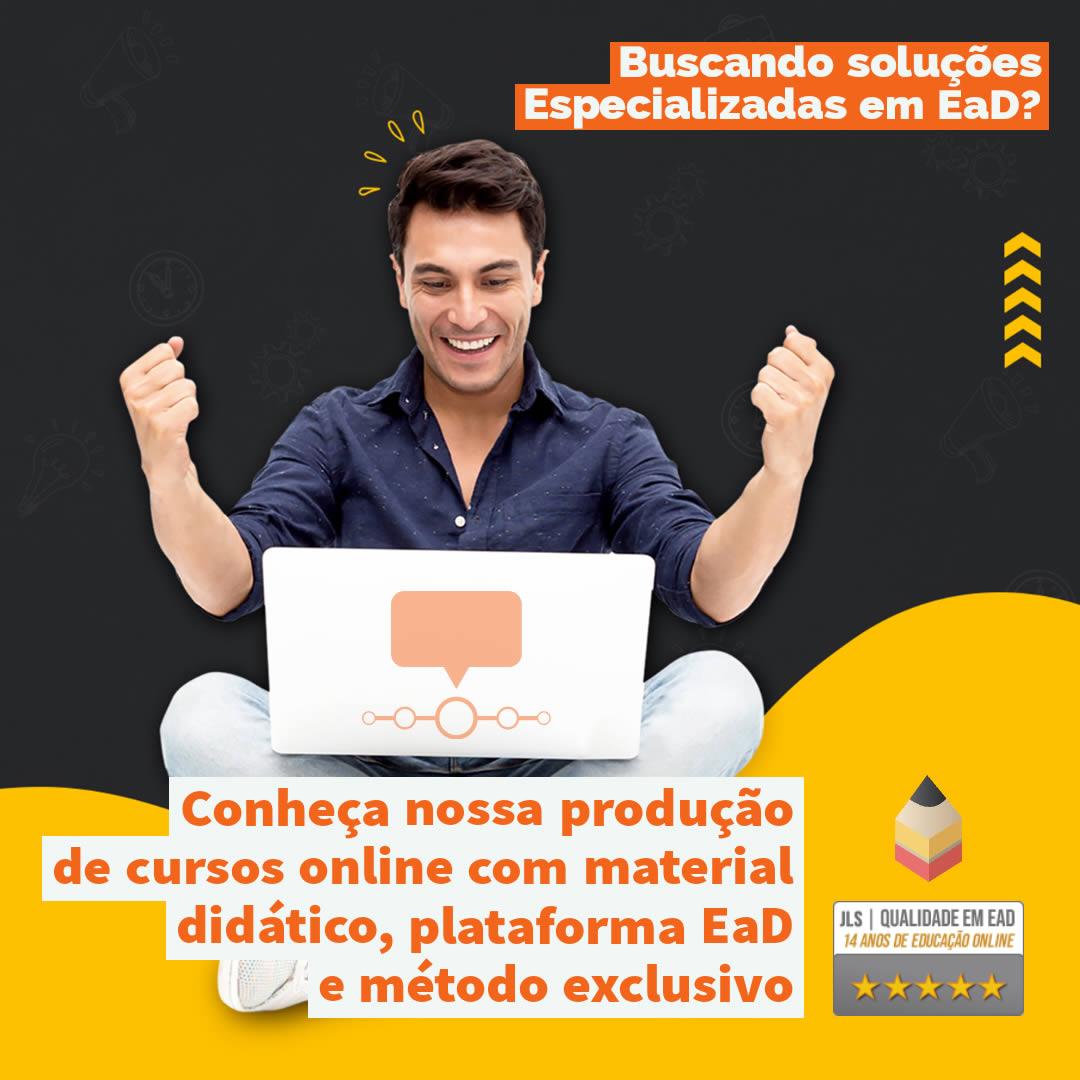 Consultoria em Educação a Distância - Produção de Material didático e plataforma EaD